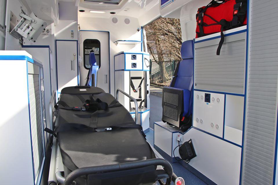 Sosnowiec: Milion złotych dla szpitala, w tym ambulans z respiratorem (foto: UM Sosnowiec)