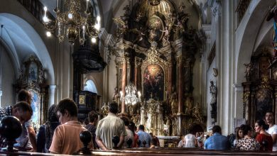 Epidemia koronawirusa: Dyspensa od uczestnictwa w niedzielnej Mszy św. Kościoły wprowadzają środki ostrożności (fot.poglądowe/www.pixabay.com)