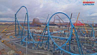 Nowy roller coaster powstaje w Energylandii! Rozpędzi się do 100 km/h [FOTO, WIDEO] (fot. Energylandia)