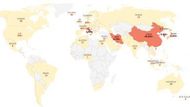 Koronawirus na świecie: najnowsze dane. Nie żyje prawie 3,5 tys. osób. Fot. New York Times