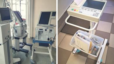 Szpital Miejski w Gliwicach z nowym sprzętem. Respiratory kupiło miasto (fot.UM Gliwice/Szpital Miejski nr 4 w Gliwicach)