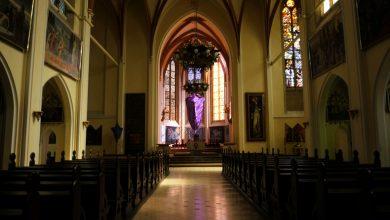 Niedziela Palmowa na Śląsku. Puste kościoły w Katowicach [WIDEO]