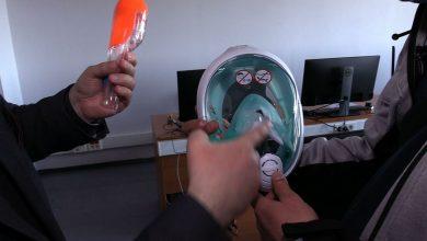 Przerobione maski do nurkowania i wydrukowane w 3d. Przyłbice trafiają do szpitali [WIDEO]