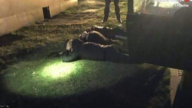 Kibice GKS Katowice zrobili sobie w czasie narodowej kwarantanny wycieczkę po Chorzowie. Na zwiedzanie miasta udali się wyposażeni w spreje. Policji powiedzieli, że przyjechali na nocne zwiedzanie Chorzowa ; ) (fot.KMP Chorzów)
