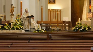 Puste kościoły i smutna Wielkanoc w czasie epidemii koronawirusa