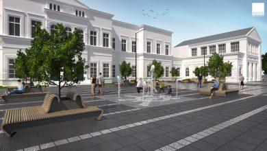 Sosnowiec jeszcze raz rozpisze przetarg na plac przed dworcemfoto: AMAYA Architekci/Arkadiusz Chęciński facebook