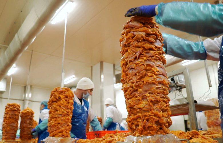 Fabryki w Polsce podglądają, jak powstaje kebab!