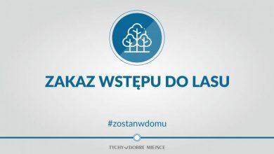 Tychy: Zakaz wstępu do lasów! I tak do 11 kwietnia (fot.UM Tychy)