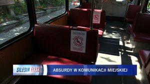 Absurdalne sceny w tramwajach. ZTM i Tramwaje Śląskie liczą milionowe straty przez koronawirusa