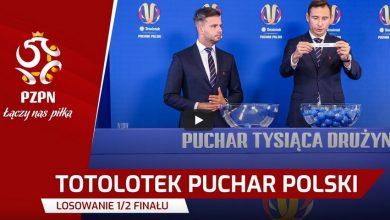 Pary 1/2 finału Totolotek Pucharu Polski już znane! Zobaczcie losowanie