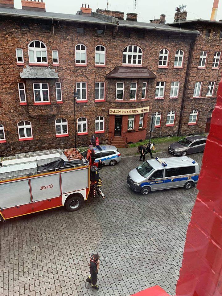 PILNE: niewybuch w Nikiszowcu! Ewakuowano 200 osób. Fot. dzięki uprzejmości pana Adama
