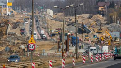 Od 21 maja trochę luźniej w Sosnowcu. Łącznica wzdłuż DK 94 gotowa (fot.UM Sosnowiec)