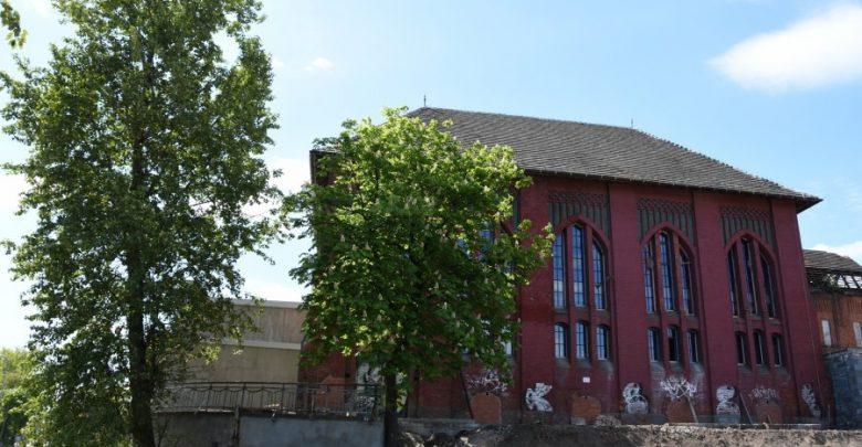Bytom: Budynki po KWK Rozbark zmieniają oblicze. Trwa rewitalizacja obiektów po byłej kopalni (fot.UM Bytom)