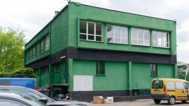 Budynek klubowy Szombierek zyska nowy blask. Ruszyła modernizacja [ZDJĘCIA]. Fot. UM w Bytomiu