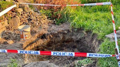 Niewybuch w Mysłowicach. Ewakuowano ponad 50 osób (fot.Śląska Policja)