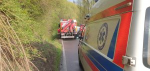 Koszmarny wypadek w Rajczy! Za kierownicą pijany 17-latek! (fot. Waszym Okiem - Radio Bielsko)