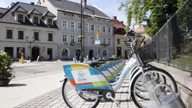 Pszczyna uruchomiła dziś rower miejski. Fot. UM Pszczyna