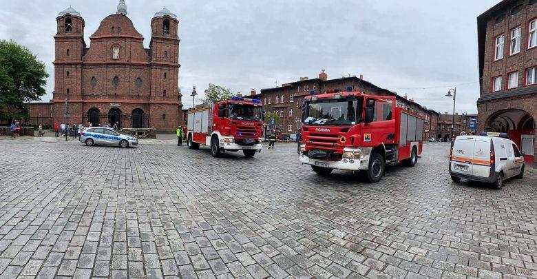 Wczorajsza ewakuacja na Nikiszowcu. NOWE FAKTY. Fot. dzięki uprzejmości pana Adama