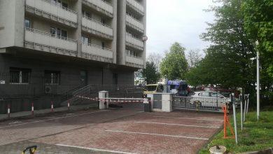 PILNE!!! Tragedia w Katowicach! Mężczyzna wypadł z 18 piętra! (fot.katowice24.info)