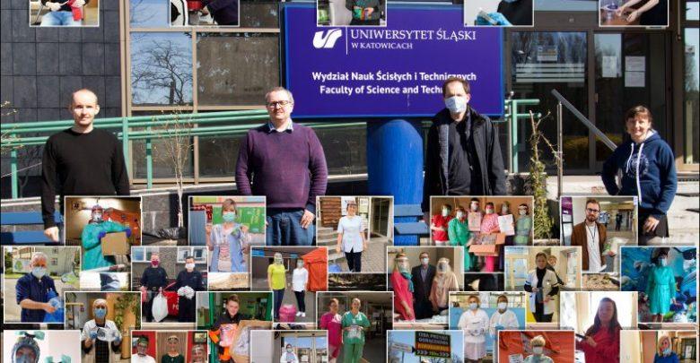 Uniwersytet Śląski wydrukował 1200 przyłbic dla szpitali! (fot.Uniwersytet Śląski)