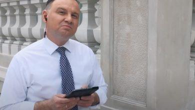 Andrzej Duda w Wałbrzychu nie tylko prosił o głosy, mówił również, że spodziewa się ataków na swoją rodzinę. [fot. archiwum]