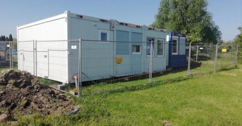 W Gliwicach powstały kontenery. Będą w nich mieszkać bezdomni. Fot. Gliwice.eu