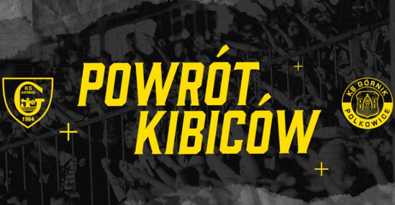 Blaszok znowu się zapełni! Kibice wracają na stadion GKS Katowice!