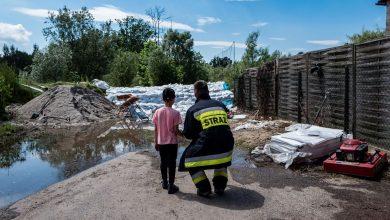 Burze nad Śląskiem. Ponad 1200 interwencji straży pożarnej. Fot. P. Jędrusik
