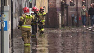 Gwałtowne burze nad Śląskiem i Zagłębiem. Zalane ulice, straż pożarna w akcji (foto.archiwum)
