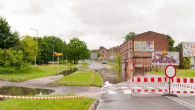 Zalane ulice i podtopienia w Bytomiu. Miasto zainwestuje w sieć kanalizacji deszczowej (fot.UM Bytom)