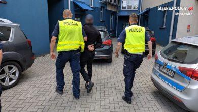 Mysłowice: Fałszywy policjant zatrzymany na gorącym uczynku (fot.Śląska Policja)