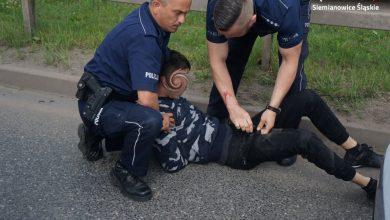 Szaleńczy pościg w Siemianowicach! Policja musiała strzelać! Fot. Śląska Policja