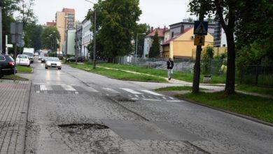 Ulica Narutowicza w Bytomiu doczeka się przebudowy (fot. silesia.info.pl)