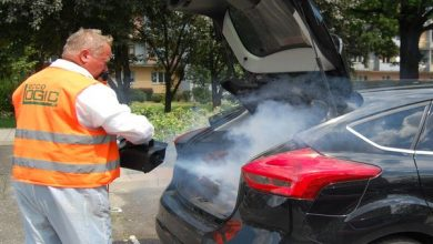 Bezpłatna dezynfekcja samochodów w Częstochowie. Z akcji skorzystało ok. 150 kierowców (fot.UM Częstochowa)