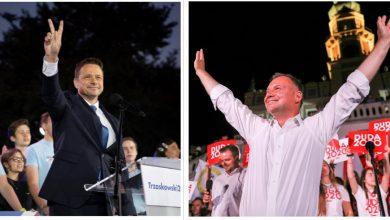 Wybory prezydenckie 2020: Jakie miasta na Śląsku głosowały na Dudę, a które na Trzaskowskiego? (foto. Rafał Trzasskowski facebook/Andrzej Duda facebook)