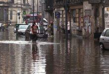 Burze nad Śląskiem: Bytom znowu zalany! I znowu pływa ulica Piłsudskiego! [WIDEO]