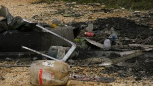 Pęknięcie opony było przyczyną koszmarnego wypadku, do jakiego doszło w czwartek późnym popołudniem w Bogusławicach pod Częstochową