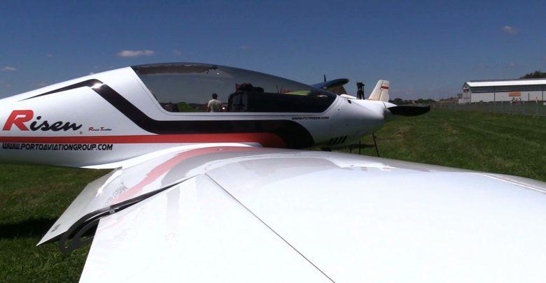 Tajemniczy samolot pojawił się nad Rybnikiem. Mieszkańcy robili mu zdjęcia, wrzucali filmiki do sieci z pytaniem - co to takiego?