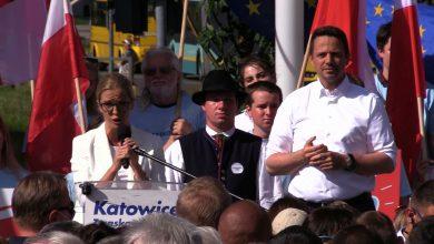 Rafał Trzaskowski odwiedził dziś Śląsk. Kandydat na prezydenta RP spotkał się dziś z mieszkańcami Dąbrowy Górniczej, Bytomia i Katowic