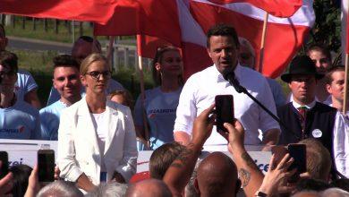 Wiec za wiecem. Rafał Trzaskowski odwiedził dziś Dąbrowę Górniczą, Bytom i Katowice