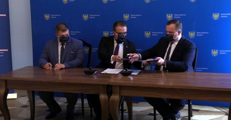 W gmachu Urzędu Marszałkowskiego zostało podpisane porozumienie o międzynarodowym wsparciu inwestycji pomiędzy Ministerstwem Spraw Zagranicznych a Województwem Śląskim