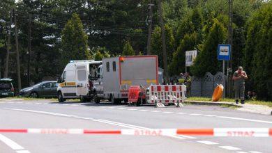 Śląskie: Wyciek gazu w Porębie opanowany, ruch na DK 78 przywrócony