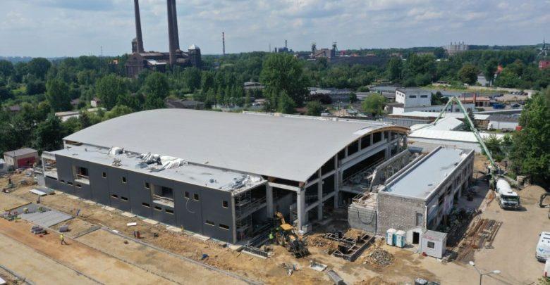 Bytom: Budowa nowej hali lodowiska. Najnowsze informacje z placu budowy (fot.UM Bytom)