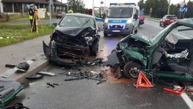 Śląskie: Koszmarna czołówka na Pszczyńskiej! Wśród rannych małe dziecko! (fot.policja)