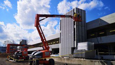 Katowice: Kolejny etap prac na budowie Centrum Przesiadkowego Brynów (fot.UM Katowice)