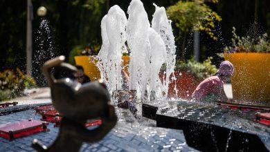 W Bielsku-Białej uruchomiono fontanny. Fot. UM Bielsko-Biała