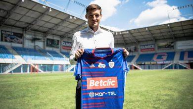 Gliwicki klub, który piłkarski sezon skończył z brązowym medalem Ekstraklasy, pozyskał nowego piłkarza - to Michał Żyro (fot.Piast Gliwice)