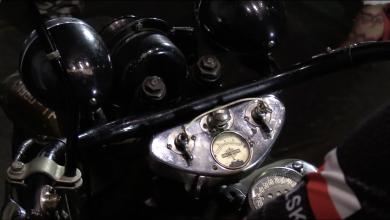 Zabytkowe motocykle w Walcowni [WIDEO]