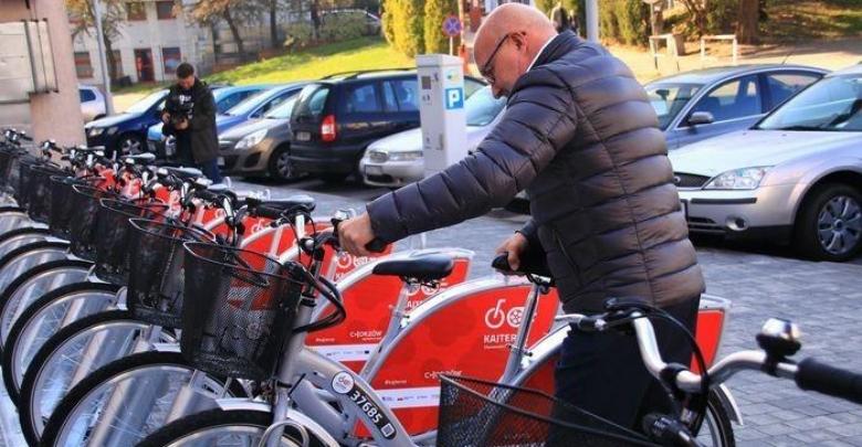 Rower miejski w Chorzowie (fot. silesia.info.pl)