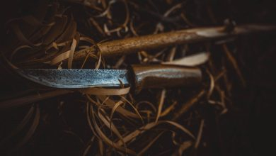 Wszedł do namiotu, przyłożył mu nóż do szyi i zaczął okładać drewnianym kołkiem. 31-latek odpowie za usiłowanie zabójstwa (fot.Policja Lubelska)